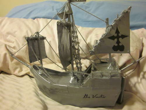 Корабль каравелла своими руками