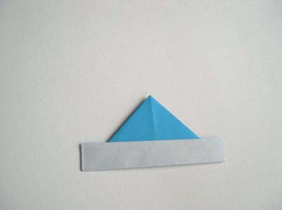 Оригами кораблик