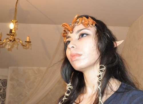 Как сделать корону принцессы Зельды