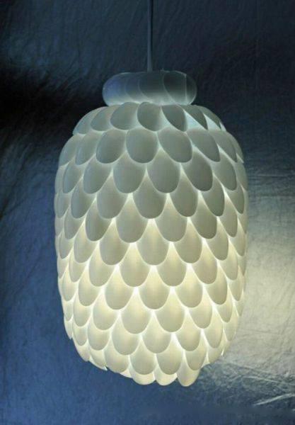 Оригинальный светильник своими руками