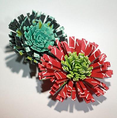 Квиллинг: цветы астры