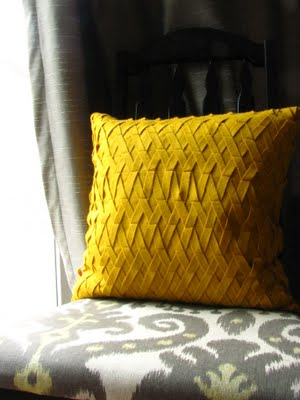 Подушка из войлока