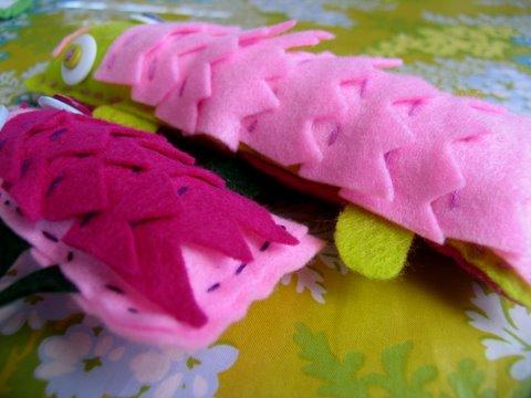 Детские поделки своими руками: войлочная игрушка
