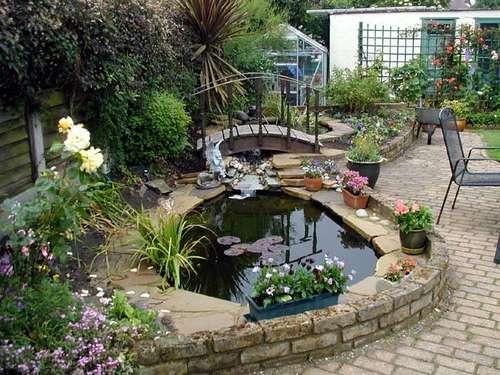 Как сделать садовый пруд