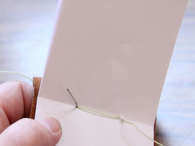 Кожаный блокнот своими руками