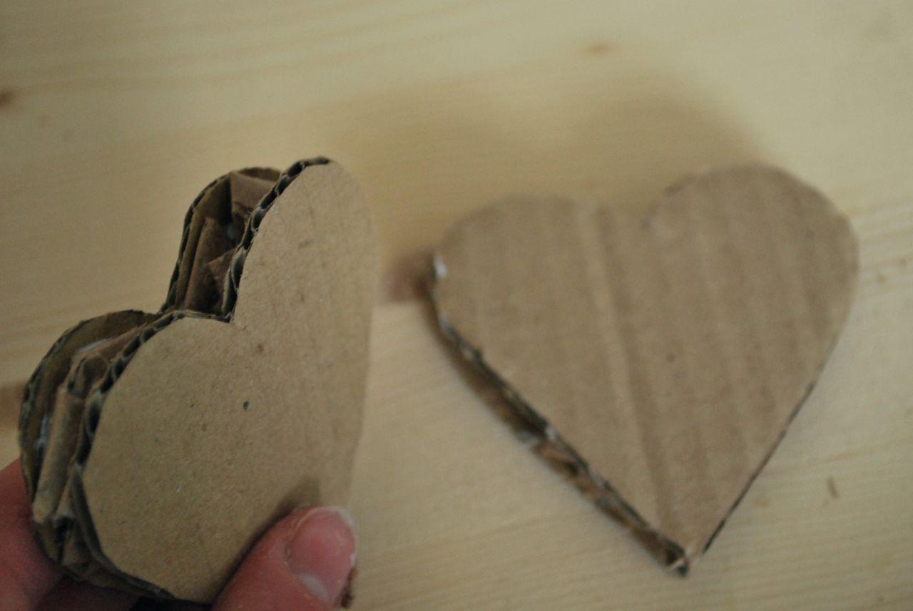 Папье маше: сердце