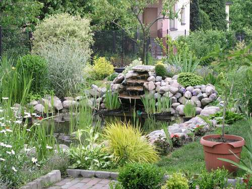 Садовый пруд своими руками
