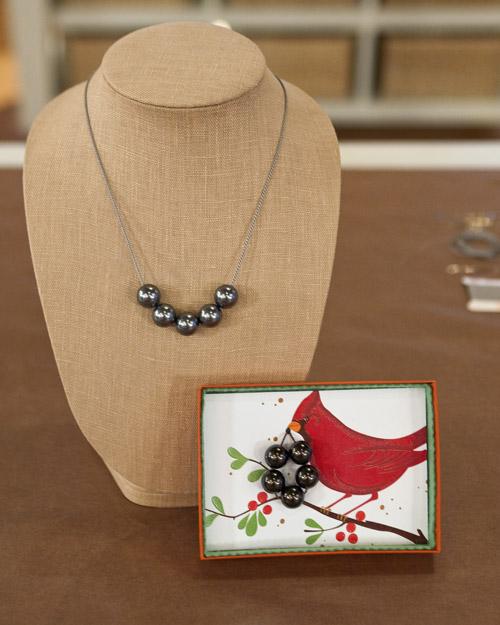 Ожерелье из искусственного жемчуга своими руками