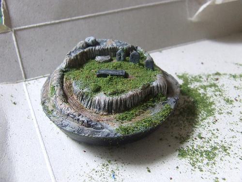 Миниатюрный сад – лепка из полимерной глины
