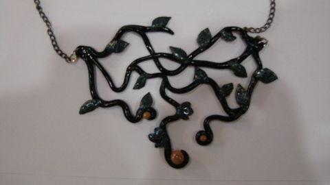 Ожерелье Фея из полимерной глины