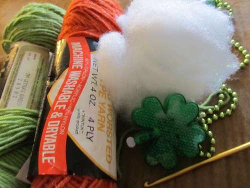 Вязание крючком игрушки: Бланка