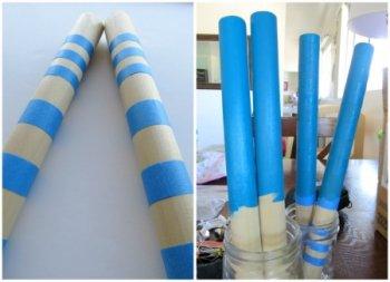 Аппликации из бумаги и ткани. Музыкальный инструмент