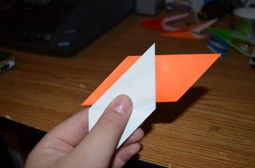 Оригами вертушка