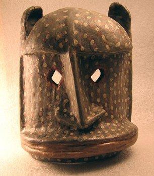 Африканские маски папье-маше своими руками
