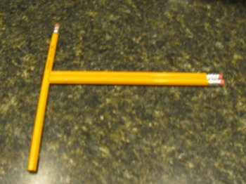 Как сделать арбалет из карандаша