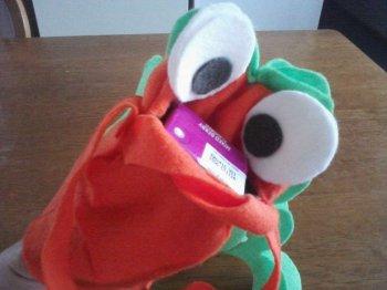 Как сделать игрушку-марионетку