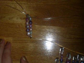 Бижутерия своими руками: жемчужный браслет из булавок