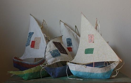 Лодка из папье-маше
