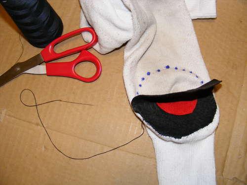 Забавные игрушки из шерсти или шерстяного носка