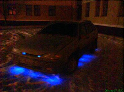 Светодиодная подсветка авто своими руками