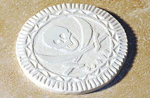 Пиратские сокровища из полимерной глины