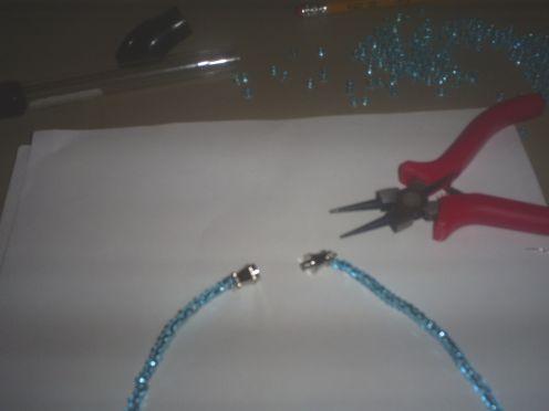 Ожерелье из бисера для вечернего выхода