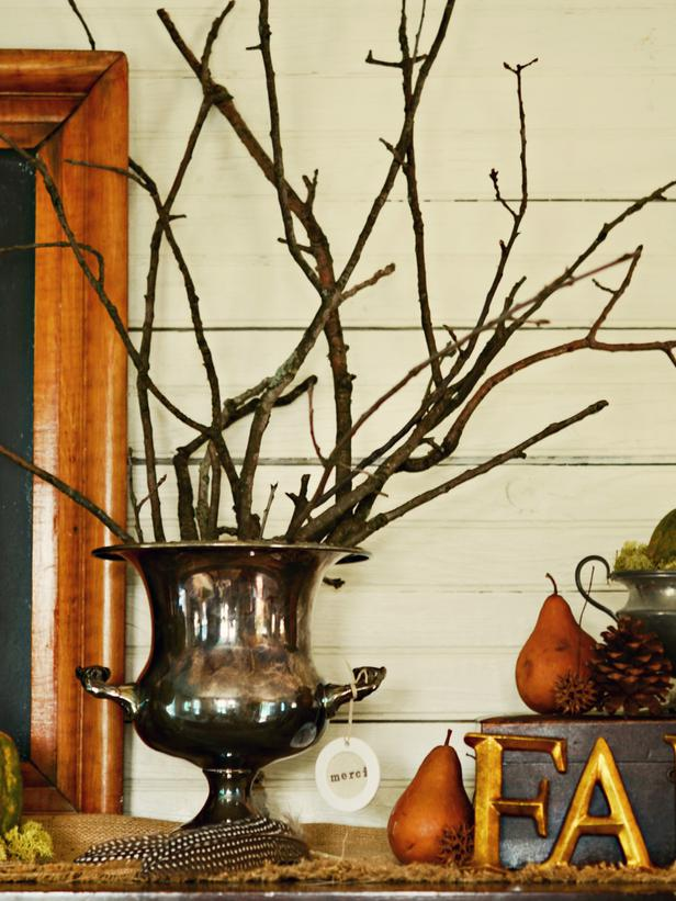 Осенний декор комнаты