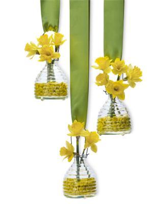Подвесные вазы для декора стен