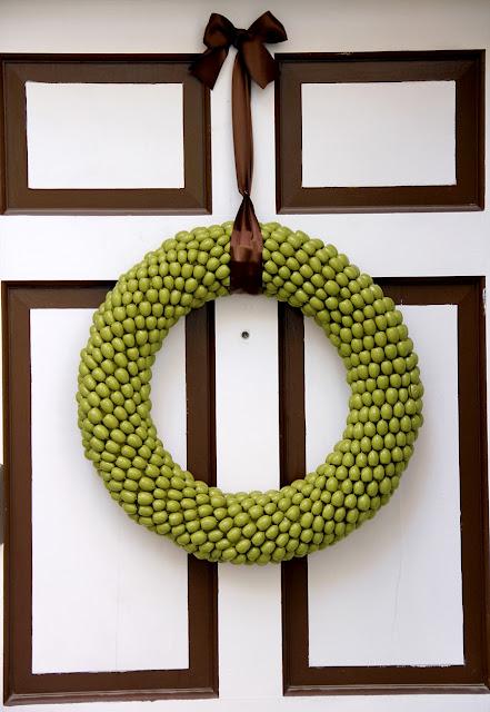 Декорирование дверей в осеннем стиле