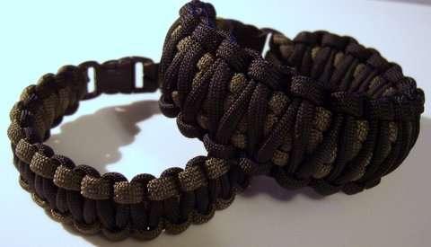 Плетеный браслет своими руками