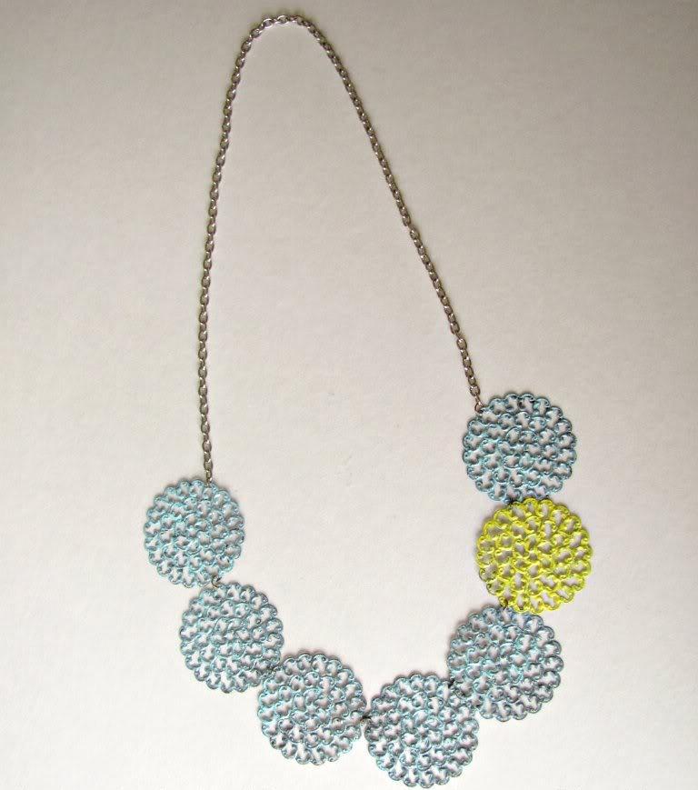 Как сделать ожерелье из металлических пластин?