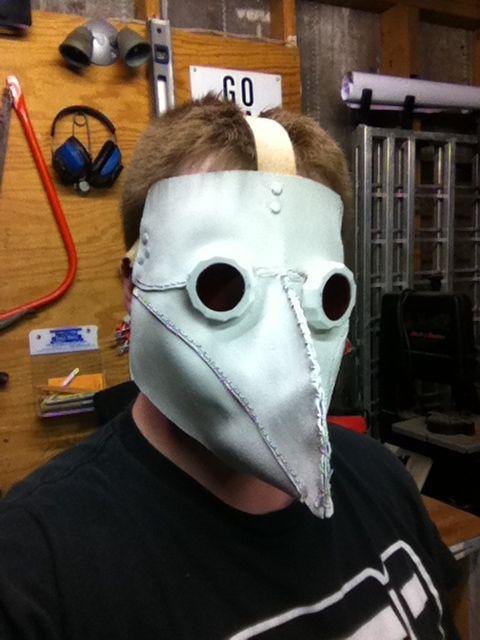 Как сделать маску Доктора Чумы