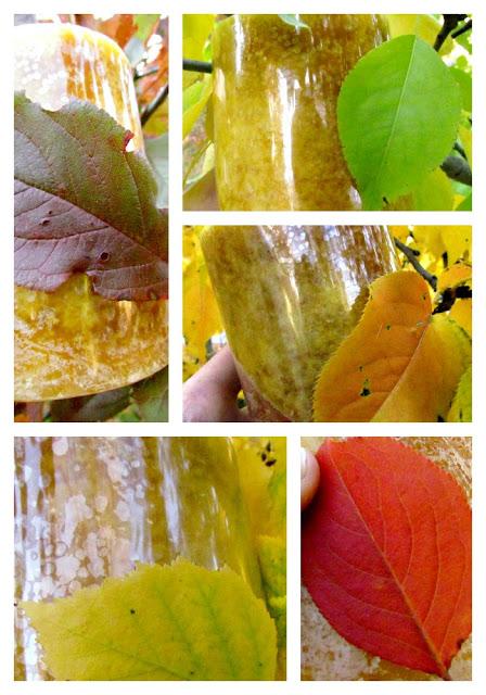 Осенние свечи своими руками