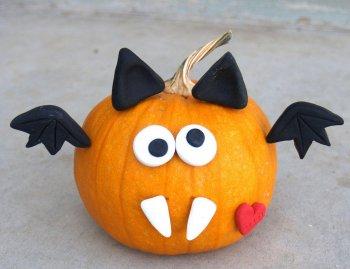Оригинальная тыква на Хэллоуин