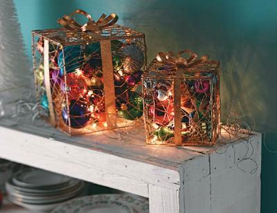 Новогодняя поделка – коробка с «волшебством»