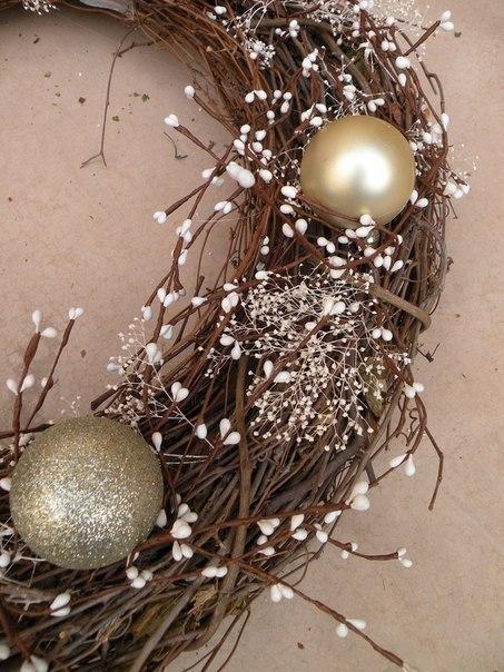 Как сделать рождественский венок?