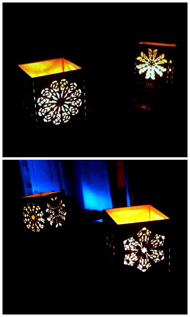 Рождественская лампа