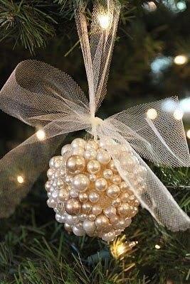 Гламурная игрушка на елку