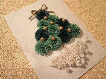 Новогодняя елка квиллинг