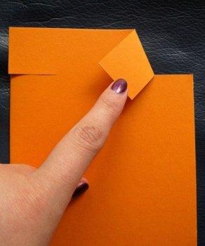 Забавный вариант открытки своими руками