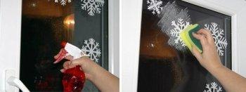 Необычные снежинки на окна