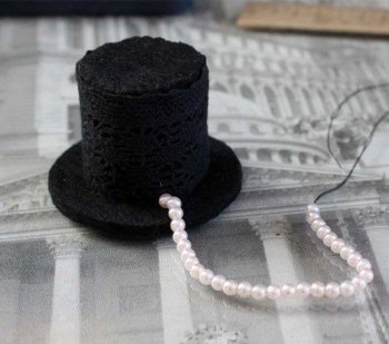 Шляпка к новогоднему костюму детям своими руками
