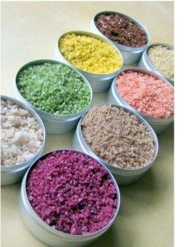 Как самому сделать цветную соль