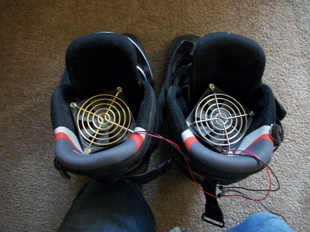 Как высушить ботинки быстро
