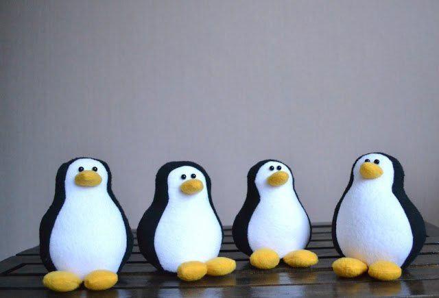 Игрушка Пингвин своими руками