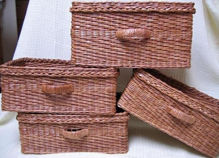 Плетение из газет: мастер-класс по созданию корзин