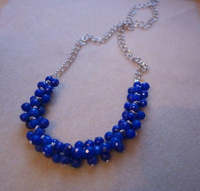 Как сделать ожерелье из бусин
