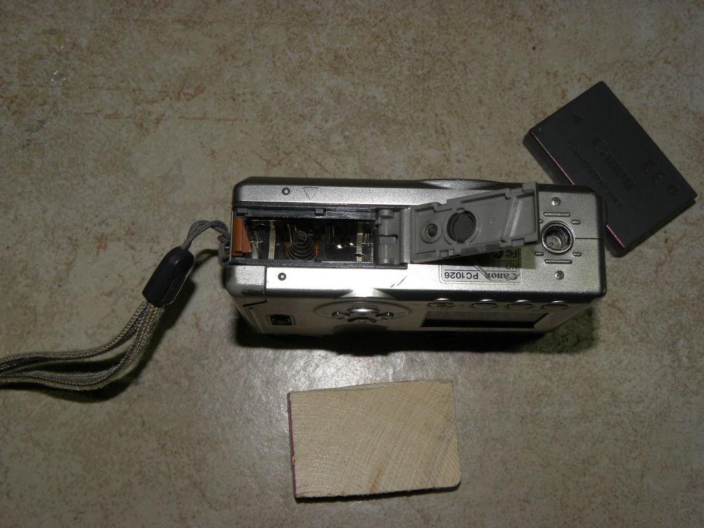 Внешний литий-ионный аккумулятор для цифровых фотоаппаратов