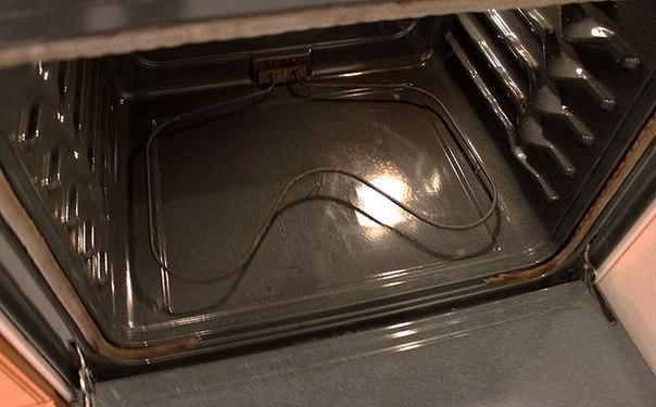 Как отчистить духовку от нагара
