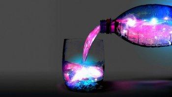 Светящаяся вода
